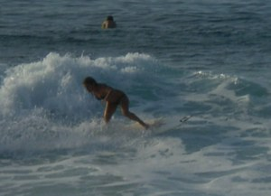 Female Power Surfer Sponsored By Vo