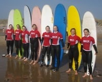 The Surfing Hen Party